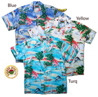 Florida Men's Hawaiian Style Shirts