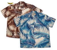 Palm Breeze Men's Rayon Hawaiian Shirts