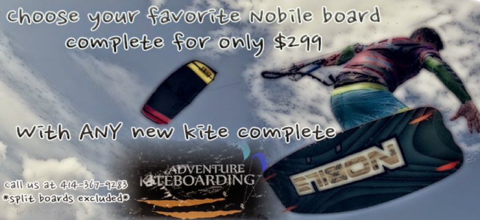 Nobile Board Sale @ Adventure Kiteboarding