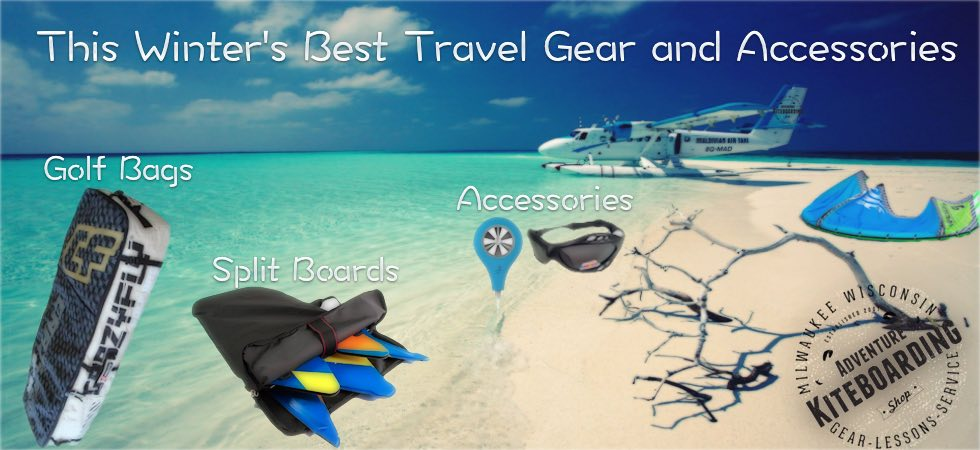 Travel Bags and Accessories @ Adventure Kiteboarding