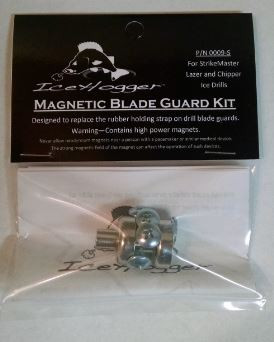 "StrikeMaster Magnetic Blade Guard Kit For Lazer and Chipper Drill Covers from 6"" through 10"" drills.  Tools needed for the conversion: Drill & Drill Bits (3/16"" drill bit for Chipper cap) (11/32""drill bit for Lazer cap), Phillips Screwdriver and Tape Measure."