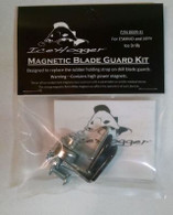 "Jiffy Magnetic Blade Guard Kit fits 8"", 9"" and 10"" covers. Tools needed for the conversion: Drill & Drill Bit 3/16"", Phillips Screwdriver and Tape Measure."