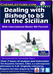 Dealing with the Bishop to b5 in the Sicilian F