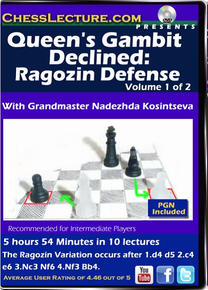 Queen's Gambit Declined: Ragozin Defense V1 Front