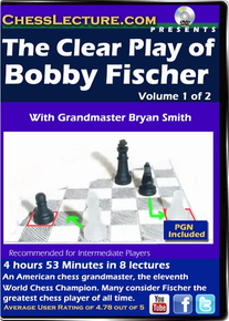 The Clear Play of Bobby Fischer 2 DVD set