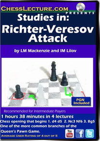 Studies in Richter-Veresov Attack Front Cover