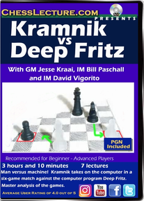 Kramnik vs Deep Fritz Front Cover