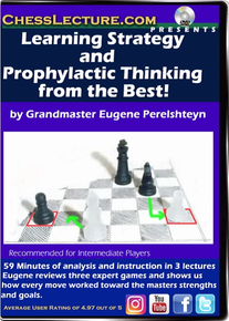 Learning Strategy and Prophylactic Thinking from the Best! Front