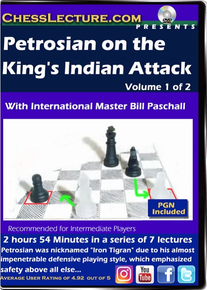 Petrosian on the King's Indian Attack V1 Front