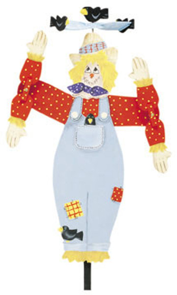 Animated Scarecrow Whirligig Plan
