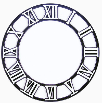 Clock Time Rings