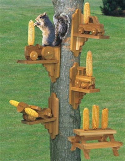 Squirrel Feeder Plan