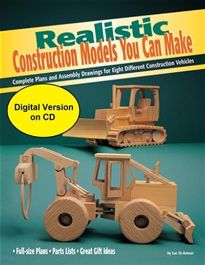 Realistic Construction Models You Can Make - CD ONLY