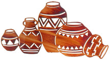 Southwest Pottery by Lazart