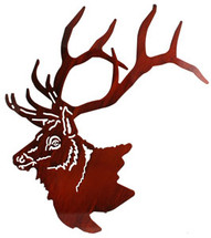Elk Head by Lazart
