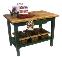"""John Boos """"C"""" Classic Country 24"""" Wide Work Table"""