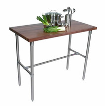 John Boos Cucina Classico Walnut Kitchen Breakfast Bar
