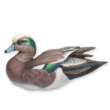 Miniature American Widgeon  Drake Sculpture