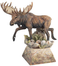 Ambler Moose Sculpture by Danny Edwards