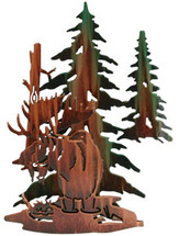 Moose Sculptures: Lazart 3D Moose Haven