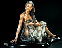 "Starlite Originals ""Sacajawea"" Indian Sculpture"