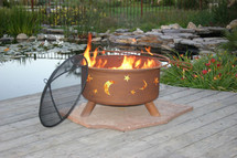 "Patina ""Evening Sky"" Outdoor Fire Pit"