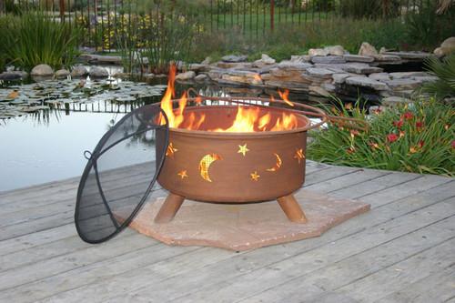 "Patina ""Evening Sky"" Outdoor Fire Pit"