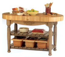 John Boos Harvest Butcher Block Table