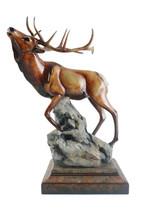Clarion Elk Sculpture by Mill Creek Studios