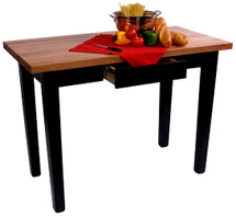 """Le Classique"" 24"" Wide Butcher Block Table"