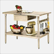 John Boos Cucina Forte Kitchen Work Table