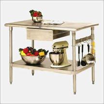 John Boos Cucina Forte Kitchen Work Table