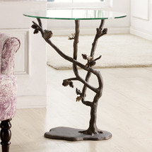 SPI Bird & Pinecone Table