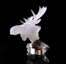 """Starlite Originals """"Dominion"""" Moose Sculpture by Kitty Cantrell"""
