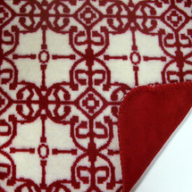Moroccan Microplush Throw