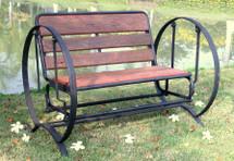 Iron Horse Glider Bench by GroovyStuff (