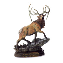 """American Wapiti"" Elk Sculpture by Marc Pierce"