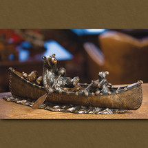 """Canoe Trip"" Sculpture by Jeff Flemming"