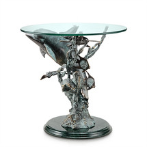 Dolphin Seaworld End Table by San Pacific