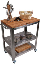 John Boos Cucina Culinarte' Kitchen Cart