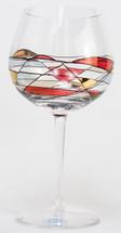Milano Noir Balloon Goblets Set/4