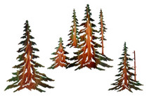 Lazart Pine Tree Set