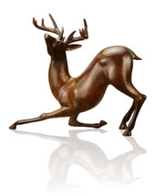 Contemporary Deer Sculpture by SPI