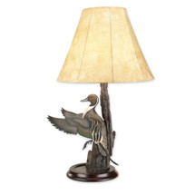Flying Pintail Table Lamp by Loon Lake Decoys