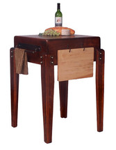 2-Day Designs Montana Lodge Kitchen Island