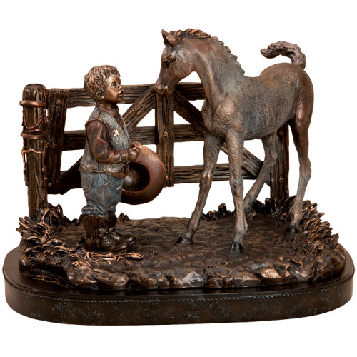 """""""Howdy Partner"""" Sculpture by Kathy Fincher"""