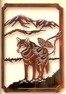 Lazart Lone Wolf Framed