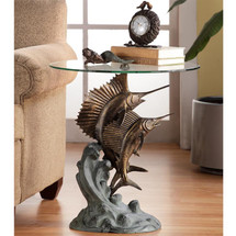 Marlin and Sailfish End Table by SPI