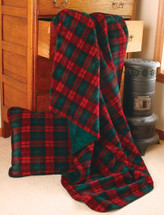 Classic Plaid Microplush Throw
