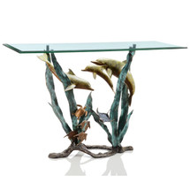 Dolphin Seaworld Console Table by SPI